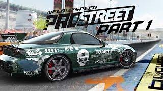 Need for Speed Prostreet Gameplay Walkthrough Part 1 - GOING LEGIT