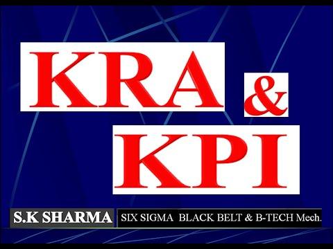 KRA & KPI Explained With Example, KPI Vs KRA, What Is KRA & KPI Case Study