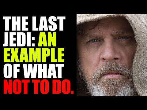 HOLLYWOOD PRODUCER Uses THE LAST JEDI As EXAMPLE Of How NOT To WRITE A Movie | Disney Star Wars
