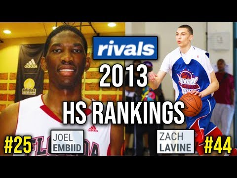 Looking Back At The BEST High School Players In The Class Of 2013