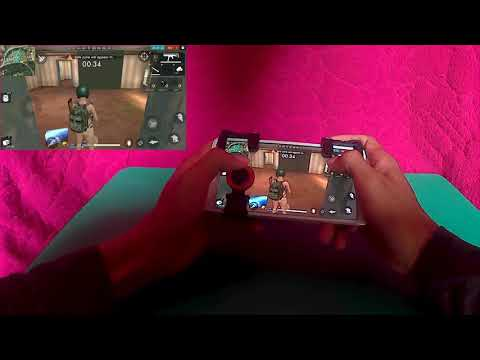 l1r1 trigger and yostick mobile gaming shooter for pubg mobile, Garena Free Fire