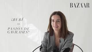 Cecilia Suárez contesta el 'test de telenovela' | HARPER'S BAZAAR ESPAÑA