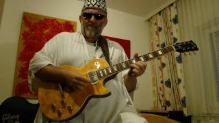 Eleanors Chill Out Reggae - SUNNYROSE - GIBSON Les Paul Flamed Maple Guitar Amber - Groove Jam