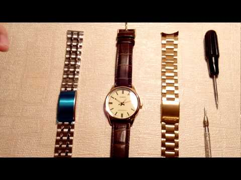 БРАСЛЕТ В  ЧАСАХ CASIO /REPLACING A BRACELET WATCH CASIO