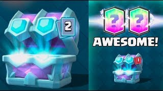 AMAZING MASTER DRAFT CHEST OPENING :: Clash Royale :: TWO LEGENDARY CARDS FROM ONE CHEST!