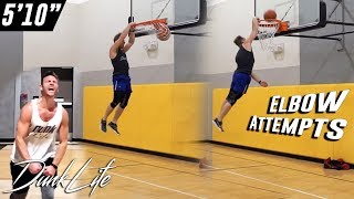 """Almost Elbow, Dribble Progress - 5'10"""" #459 Dunk Journey 2.0 #DunkLife Video"""