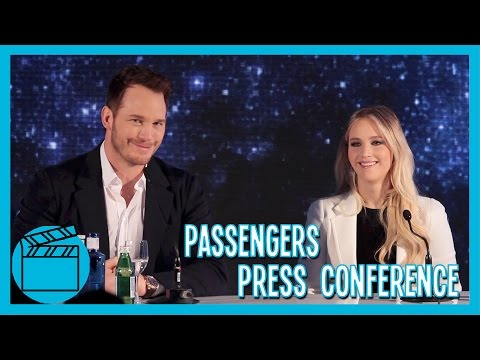 Passengers Press Conference Madrid (Spain) with Jennifer Lawrence and Chris Pratt