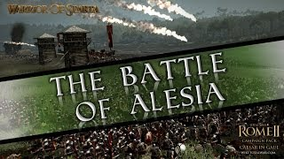 Total War Rome II: Battle of Alesia