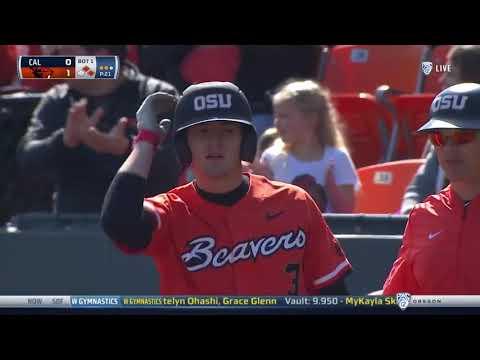 Oregon State Beavers - Beavers blast California 10-5 take series at Goss!!