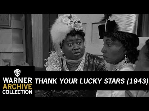Thank Your Lucky Stars (1943) – Hattie McDaniel & Willie Best - Ice Cold Katie