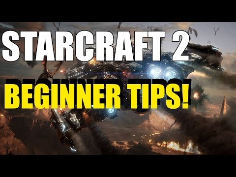 Learn Starcraft 2 - Quick Beginner Tips! (Hotkeys, Controls, Settings and Resources)
