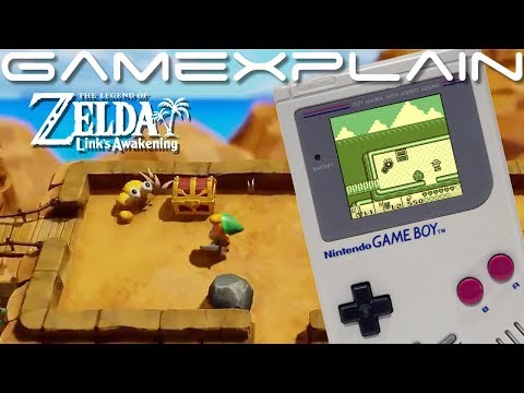 Tal Tal Heights Shown Off in the Zelda: Link's Awakening Remake! + Switch vs Game Boy Comparison