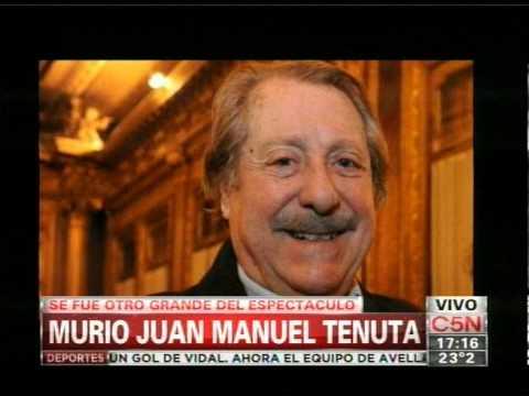 C5N - SOCIEDAD: MURIO JUAN MANUEL TENUTA