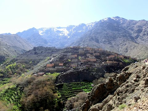 Hiking in the Atlas Mountains (Jebel Toubkal)