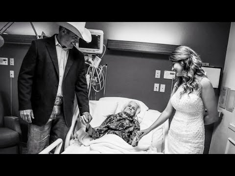 Adam Rivers - Couple weds in hospice care so 100 year old grandmother can be present