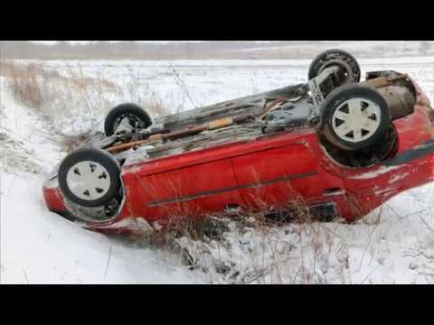 Особенности зимнего вождения на лобненском маршруте. Февраль 2018