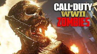Call of Duty WW2 Zombies - NEW WW2 ZOMBIES GAMEPLAY!! (COD WW2 Zombies PS4 Gameplay)