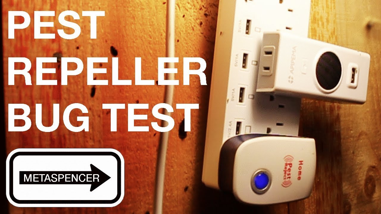 Ultrasonic Pest Repeller Bug Test