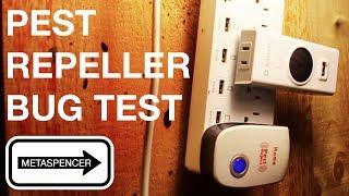 Ultrasonic Pest Repeller Bug Test