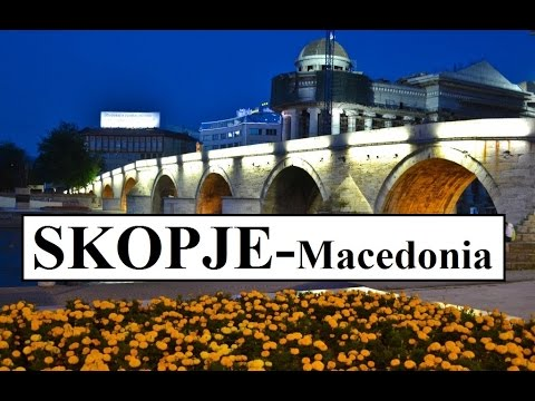 Macedonia-Skopje by night  (Üsküp akşamları) Part 6