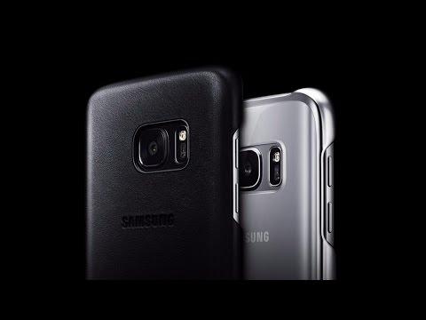 Обзор чехла Leather Cover для Samsung Galaxy S7 и S7 edge.