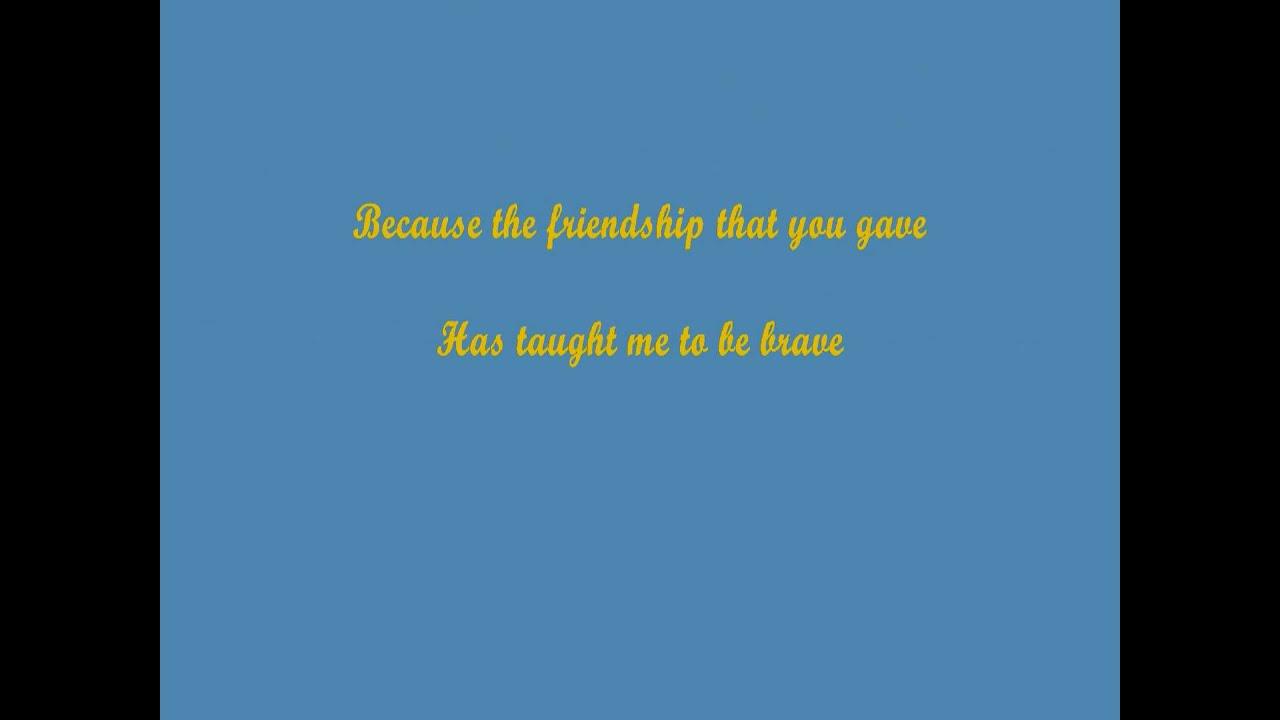 Lyrics of ill be