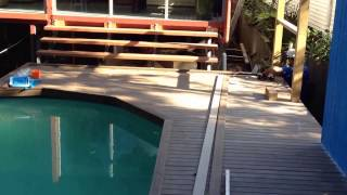 How To Adapt Your Above Ground Pool.  Amazing Transformation!!