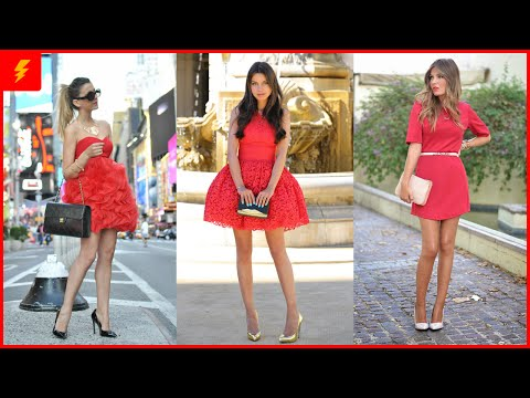 How to Wear Red Dresses