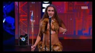 Красноярка в костюме амазонки впечатлила жюри «Танцев»