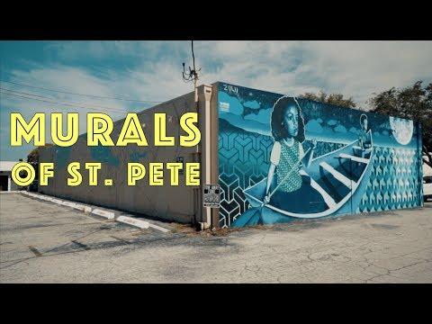 Murals of St. Pete | Street Art in Downtown St. Petersburg, Florida