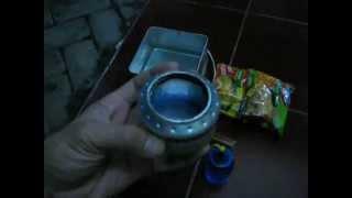 Masak Mie Instan dengan Kompor Kaleng Softdrink