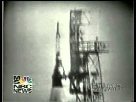 NBC News Re-broadcast coverage John Glenn 1962 Space Flight