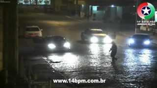 Condutor do Fiat Strada embriagado em Guaramirim