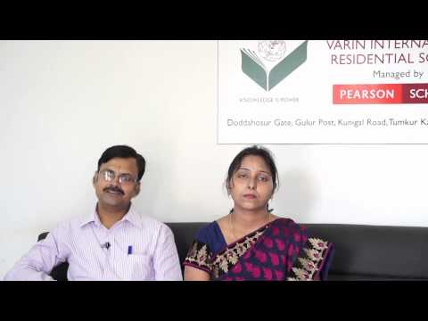 Parent Testimonials - Varin International Residential School, Tumkur