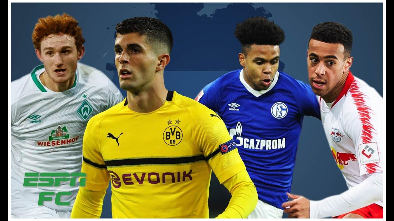 Christian Pulisic, Tyler Adams, Weston McKennie & Josh Sargent thriving in Germany   Bundesliga