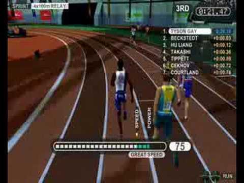 4x100 metre relay summer athletics