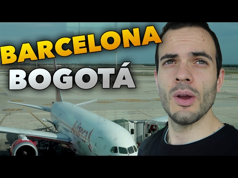 FROM BARCELONA TO BOGOTA - TRAVEL BLOG #149