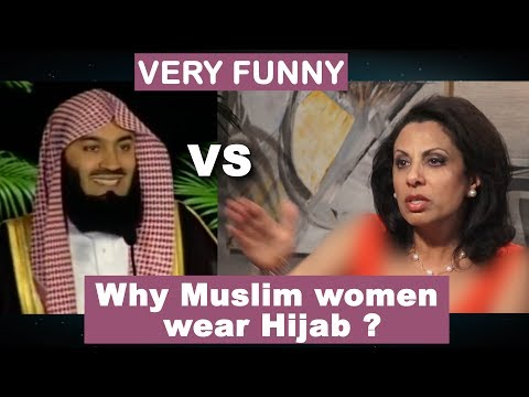why Muslim WOMEN wear HIJAB ? why Muslim MEN keep BEARD ? Brigitte Gabriel Vs Mufti Menk  VERY FUNNY