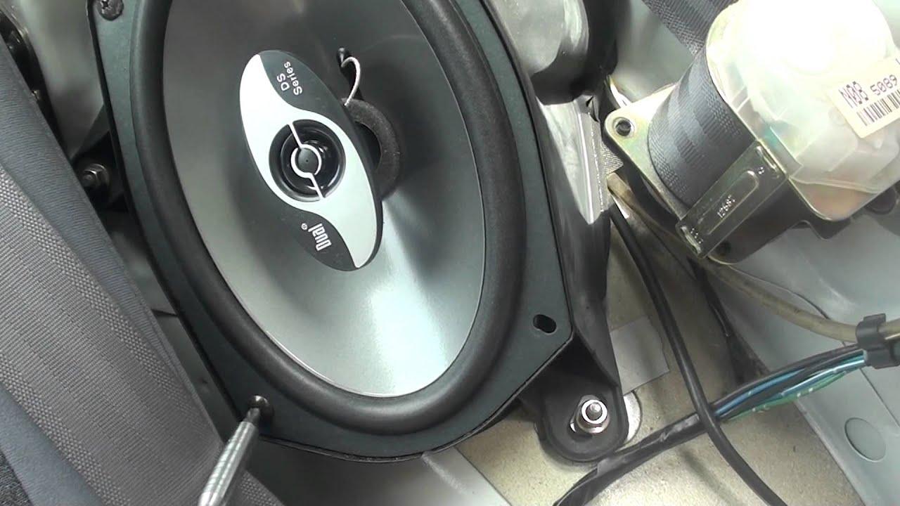 1995 Mitsubishi Eclipse Gsx Wiring Diagram Of Baby Engaged In Pelvis 99 Rear Speaker Installation Youtube