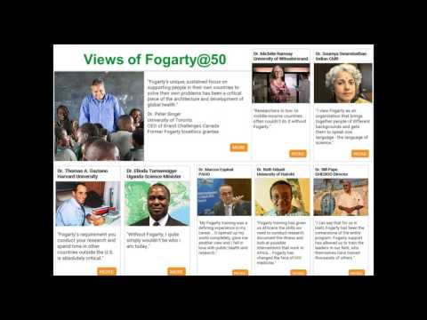 The Fogarty International Center: How Americans Benefit from Global Health Research Webinar