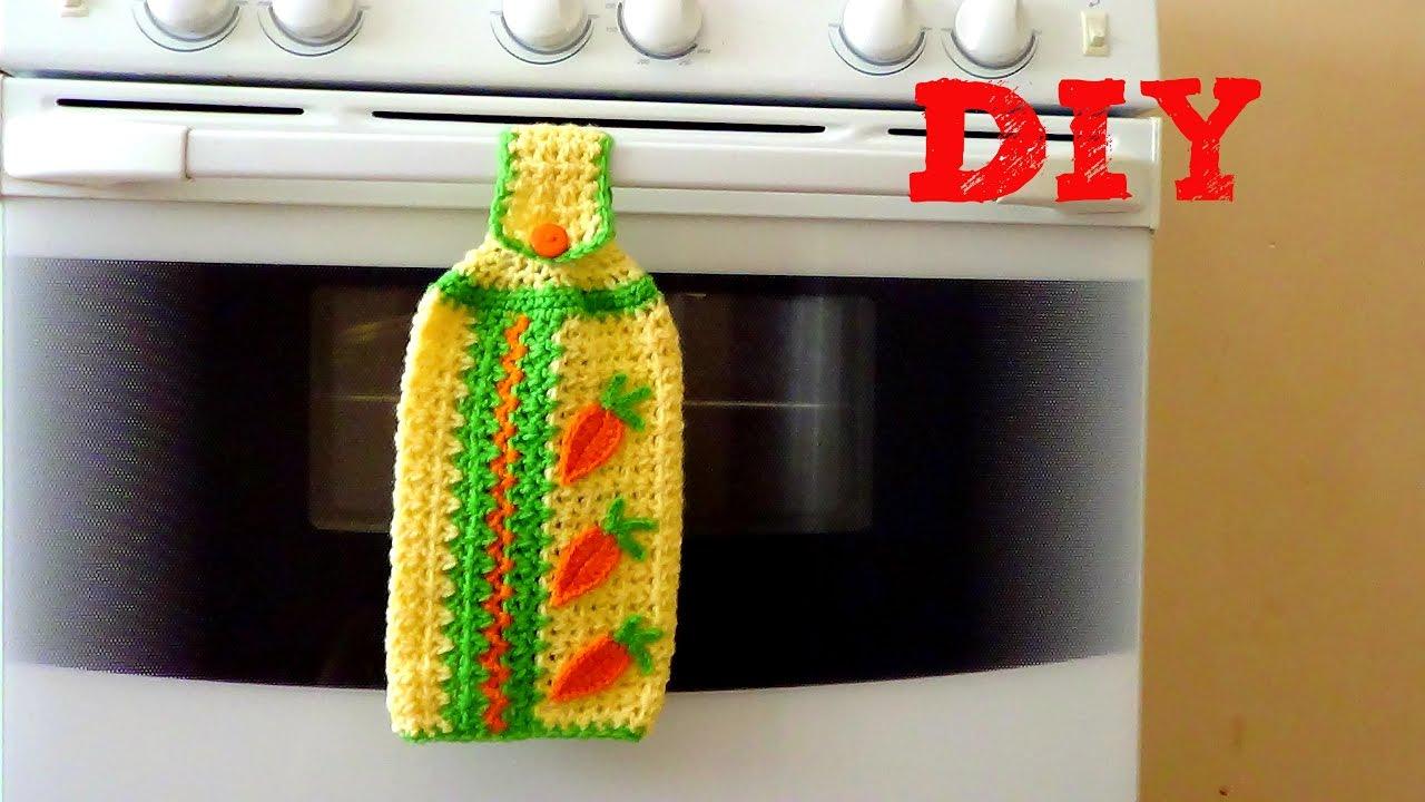 Adorno de cocina tutorial paso a paso secador de manos - Secador de manos ...