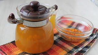 Облепиховый чай с медом