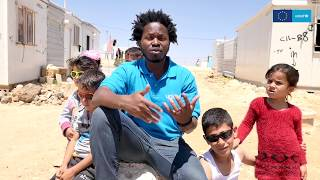 Ishmael Beah reflects on his visit to Syrian Refugees in Jordan