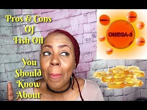The Pros & Cons Of Fish Oil THAT YOU SHOULD KNOW ABOUT
