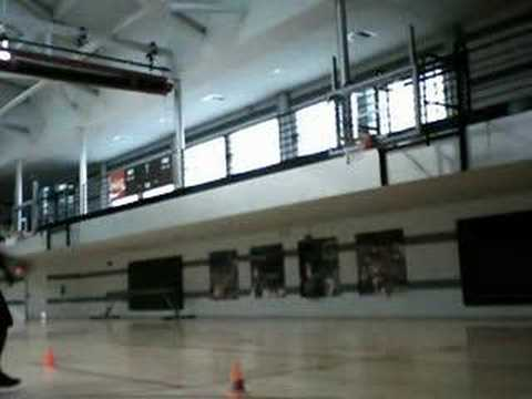 Maurice Andrews basketball workout