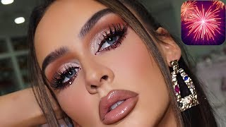 MY NEW YEARS EVE MAKEUP 2020!