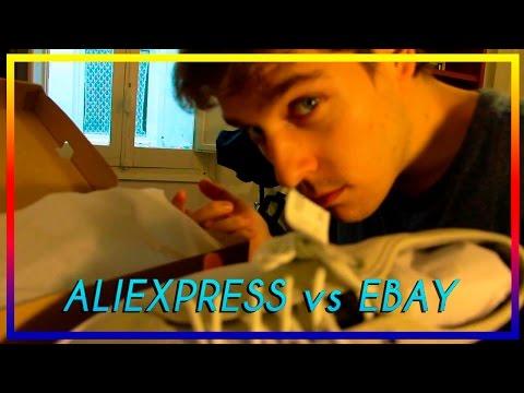 COMPRAR en EBAY vs. ALIEXPRESS - El Momento de Lacer