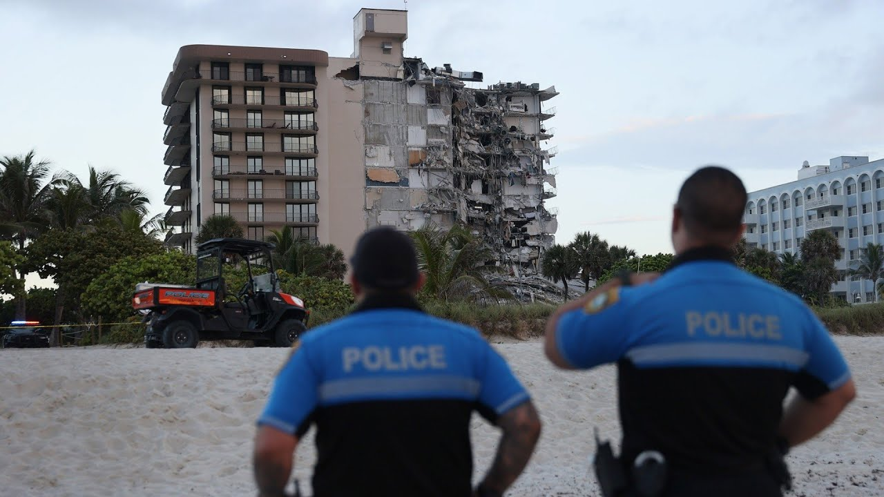 Fifty missing in catastrophic Miami condo collapse