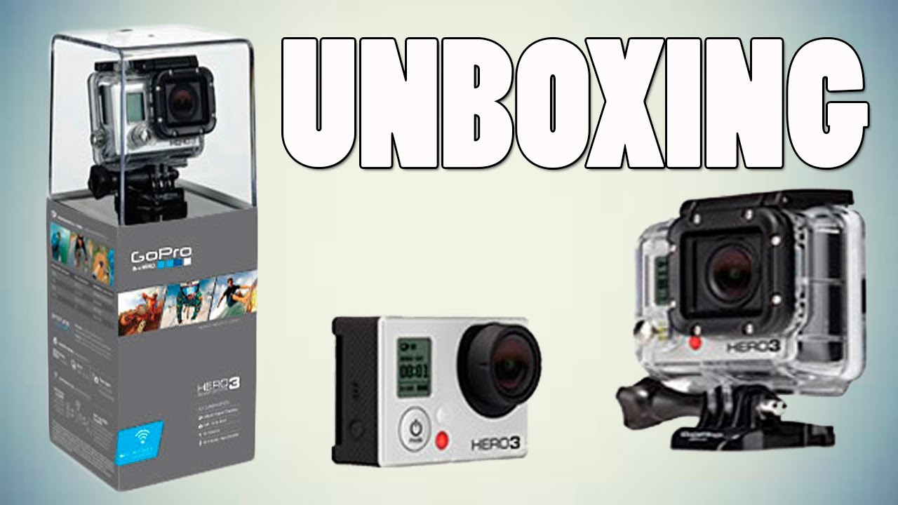 unboxing gopro hero 3 silver caracter sticas en espa ol. Black Bedroom Furniture Sets. Home Design Ideas