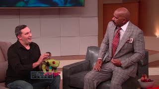 Steve vs. Scary Animals || STEVE HARVEY